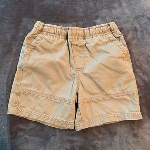 Boys Khaki Shorts. Children's Place. 24 months.